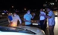 Trafik kazasında taraflar arasında maske tartışması