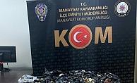 Yüzlerce gümrük kaçağı malzeme ele geçirildi