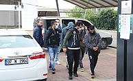 Alanya'da uyuşturucu tacirleri tutuklandı