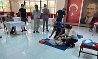 ALKÜ'den ilk yardım eğitimi