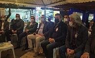 CHP İl Başkanı Bayar'dan Aras'a taziye ziyareti
