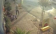Engelli yaşlı kadını itip yere düşürdü