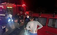 Minibüsün tıra çarptığı kazada can pazarı