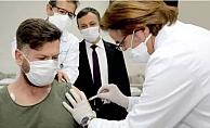 Yerli aşının 2'inci dozu uygulandı