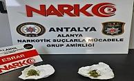 Alanya'da uyuşturucu taciri tutuklandı