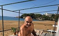 Alanya'da definecilerden sonra deniz kabuğu koleksiyoncuları iş başında