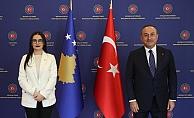 """Çavuşoğlu: """"Türkiye'ye darbe yapmış bir terör örgütünün mevcudiyetini görmek istemeyiz"""""""