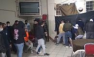 Kısıtlamada oyun salonunu kıraathaneye çevirenlere polis baskını