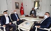 MHP'li Aksoy'dan Başkan Yücel'e ziyaret