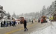 Alanya-Konya karayolunda trafik kazası: 2 ölü, 5 yaralı