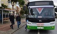 Alanya'da otobüslere yüzde 14 zam geldi