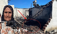 Kahreden yangında kepçeyle yıkılan duvar detayı