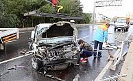 Kuşadası çevre yolunda trafik kazası: 1 yaralı