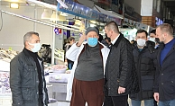 MHP Alanya esnafın sorunlarını dinledi