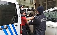 Öfkeli kadın doğal gaz borusunu kesip mahalleyi havaya uçurmak istedi