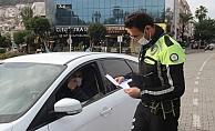 Alanya'da polis tarafından 1 haftada kaç kişiye ceza kesildi?
