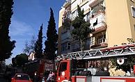 Antalya'da aspiratör yangını korkuttu
