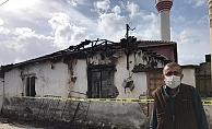 Minare ustasının feci şekilde öldüğü yangını mahalleli anlattı