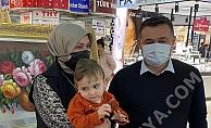 Yücel çiftinden minik Ahmet'e destek