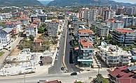 Alanya'da trafik sorununa neşter vuran proje tamamlandı