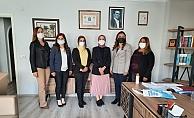 Alanya'da Ak Kadınlardan Avukatlar Günü ziyareti