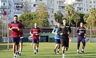 Alanyaspor Başakşehir maçına hazırlanıyor