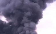 Çekirge üretim merkezindeki yangın korkuttu