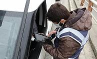 Samsun'da polisten sokağa çıkma kısıtlaması denetimi