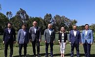 Bakan Çavuşoğlu Antalya'da diplomatlarla buluştu