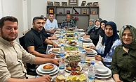Başkan Yücel iftarını şehit ailesi ile açtı