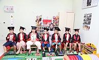 ALKÜ Uygulama Anaokulu'nda mezuniyet coşkusu