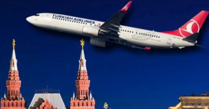 THY, Moskova-Antalya  ek seferlerini artıracak