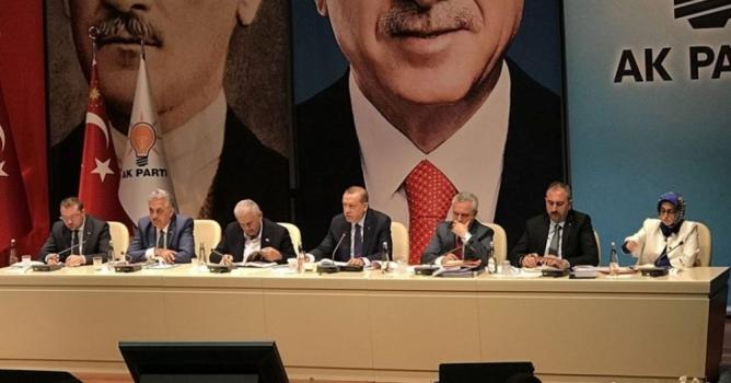 Toklu, İl Başkanları Toplantısı'na katıldı