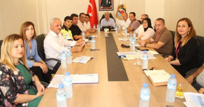 Triatlon komitesi toplandı