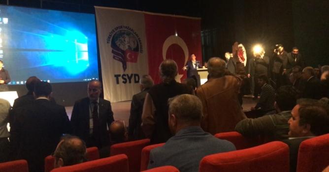 TSYD kongresi iptal
