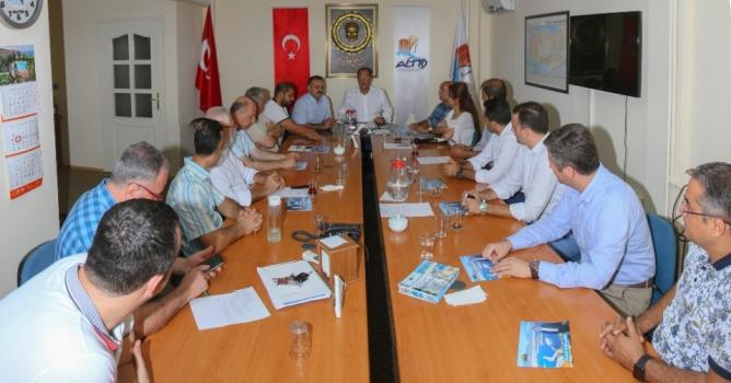 Tuna ALTİD'e projelerini anlattı