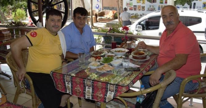 Turan Usta'da buluştular