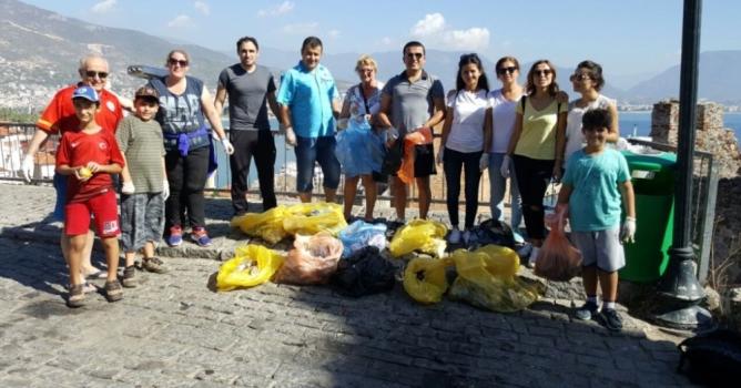 Turizmciler Alanya'nın tarihi mekanlarına sahip çıktı
