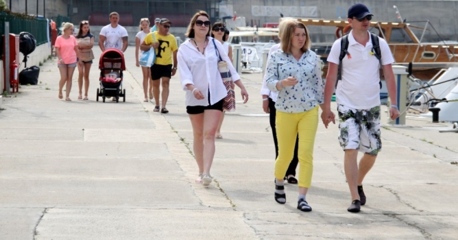 Turizmde % 30'un  üzerinde artış var