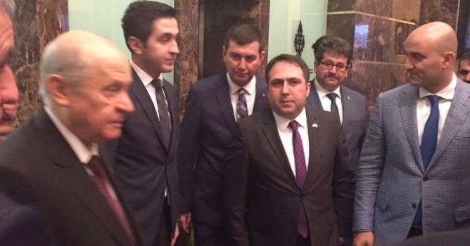 Türkdoğan, Bahçeli  ile bir araya geldi