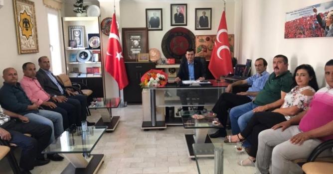 Türkdoğan, muhtarları ağırladı