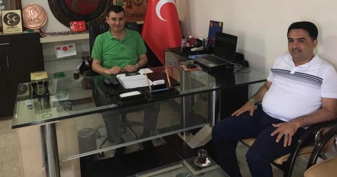 Türkdoğan'a Osmaniye'den ziyaret