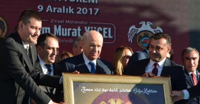 Türkdoğan'dan Başkan Yücel'e teşekkür