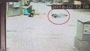 İkinci motosiklet faciası kıl payı atlatıldı