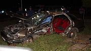 D-400'de feci kaza: 1 ölü, 7 yaralı