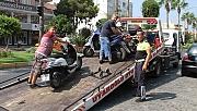 Motosikletlilere yönelik  denetimler sürüyor