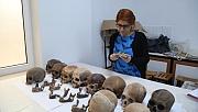 Yedi bin yıllık toplu  mezar kalıntıları bulundu