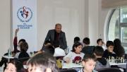 Alanya'da satranç turnuvasına yoğun ilgi