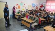 Alanya polisi öğrencilere  trafik kurallarını aşıladı