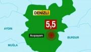 Denizli depremi Antalya'yı da korkuttu!